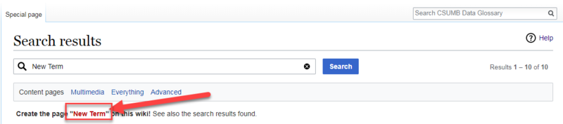 Search results create new page.png