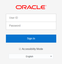 Screenshot illustrating Sign In page dialog. See narrative for more detail.